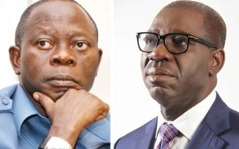 Obaseki vowed to probe Oshiomhole
