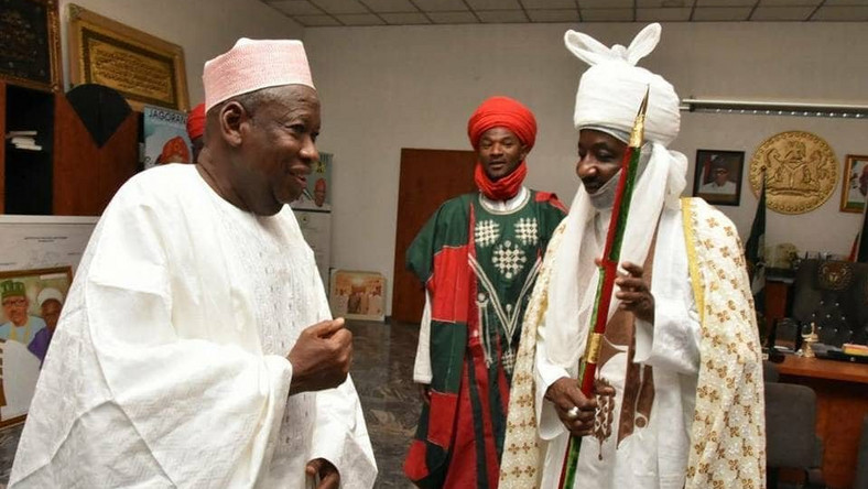 Removed Sanusi as emir of Kano