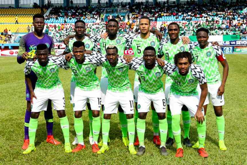 Nigeria Drops One Spot On FIFA Ranking, See New Position