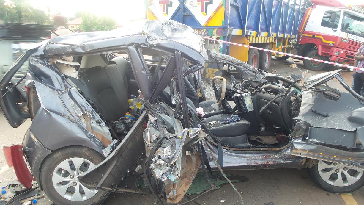 Three Crushed To Death As Truck Rams Into Motorcycle In Abeokuta