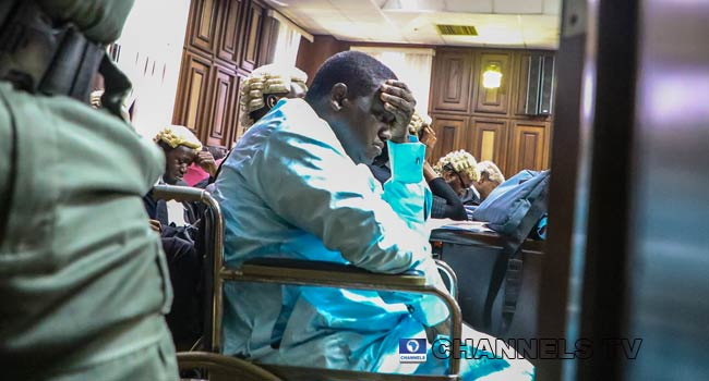 Maina To Court: I'm Losing My Leg, Grant Me Bail