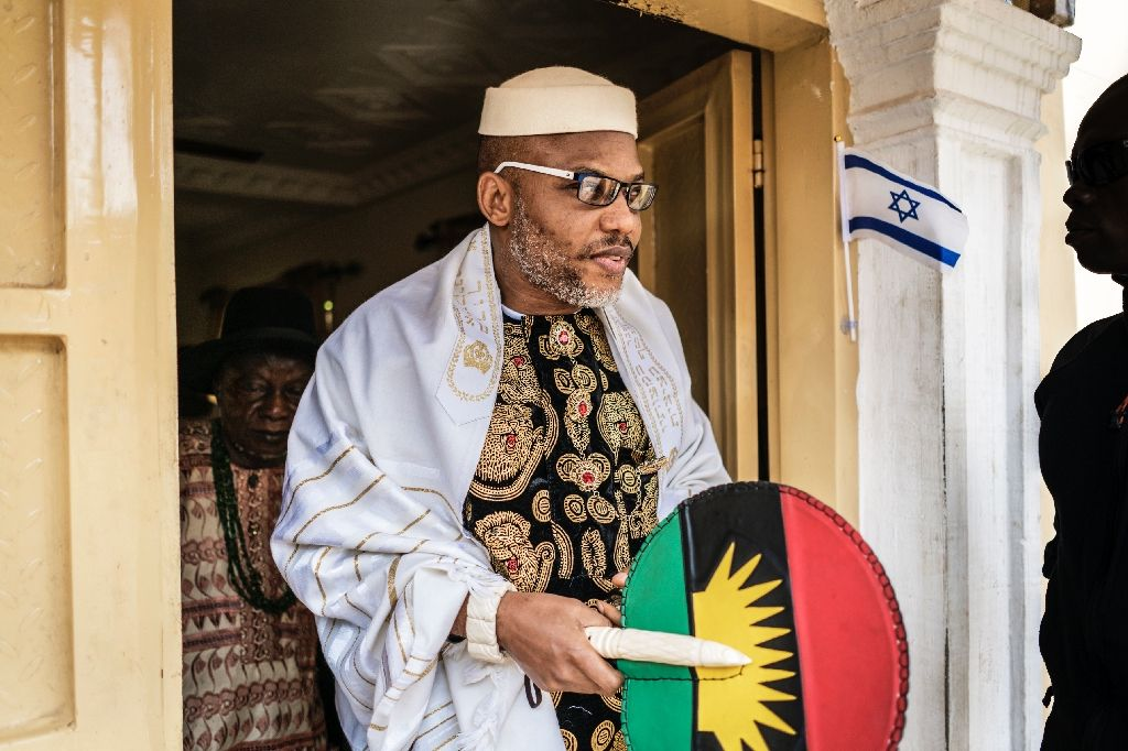 "Join Eastern Security Network"" Nnamdi Kanu Tells Soldiers Who Fled From Boko Haram"