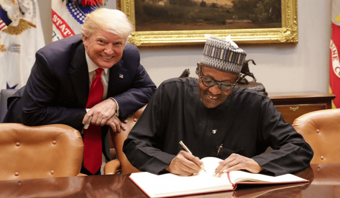 Trump should learn from Buhari