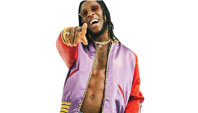 Burna Boy's 'Twice as tall' Ranks First On Apple After Grammy Win