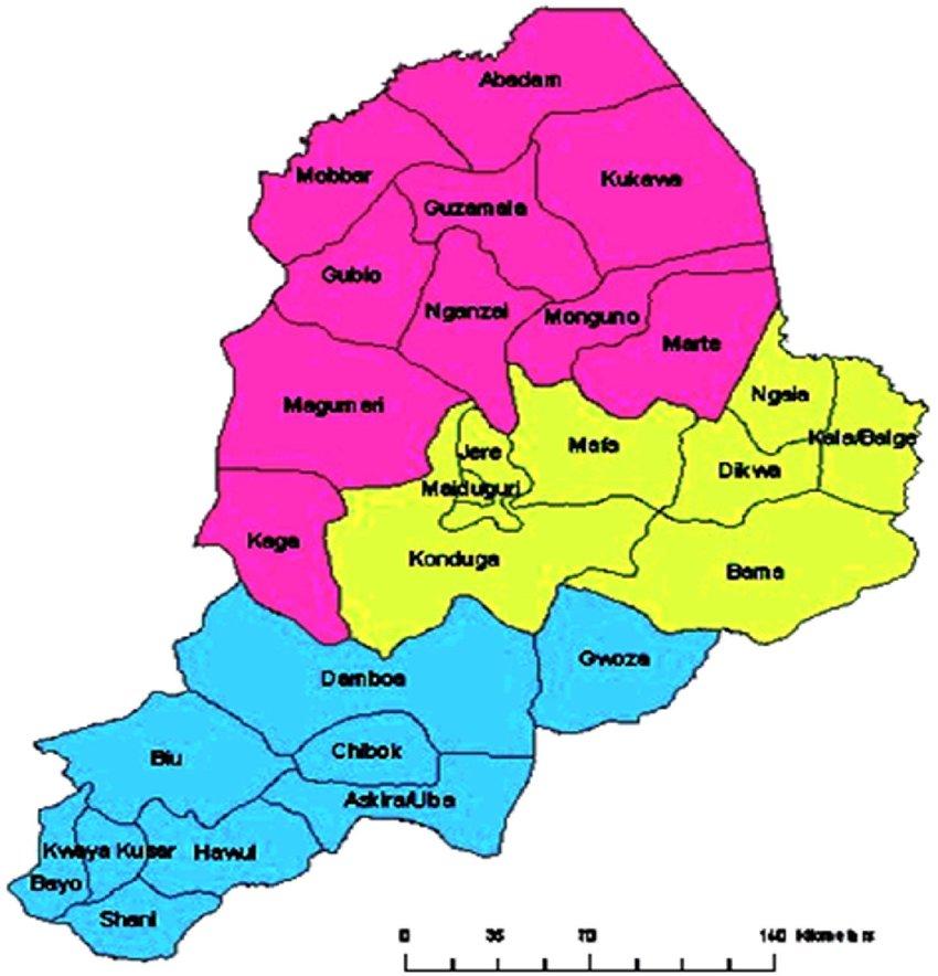 Borno Boko Haram Damasak