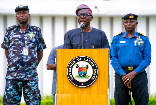 Sanwo Olu COVID-19 Lagos