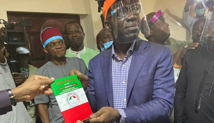 PDP suspicious of Obaseki's supporters
