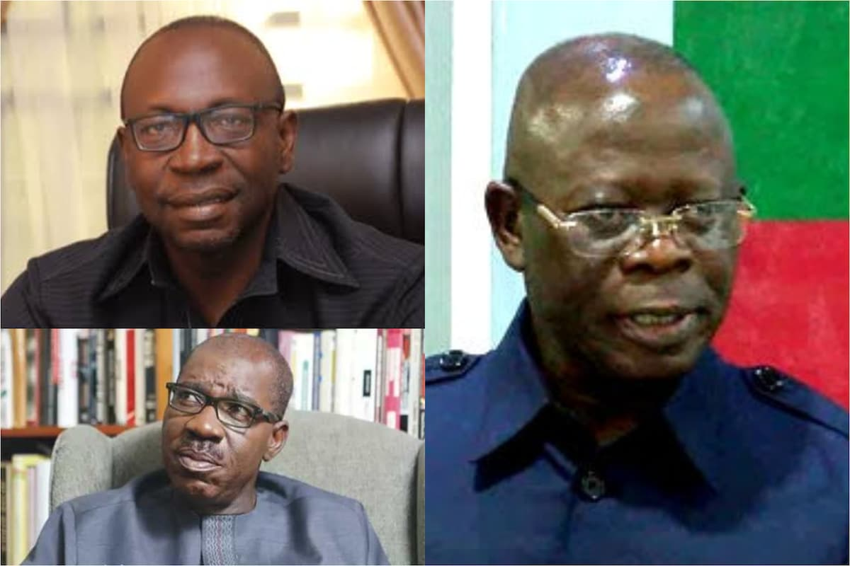 Was Oshiomhle responsible for Loss of Edo State?
