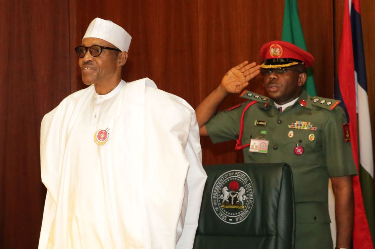 Buhari made change in his personal security