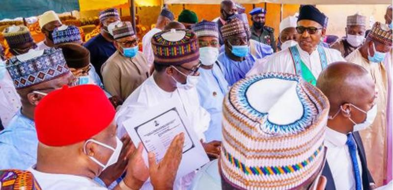 Buhari's Face mask uproar