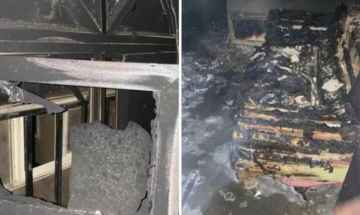gunmen set Igboho's house on fire