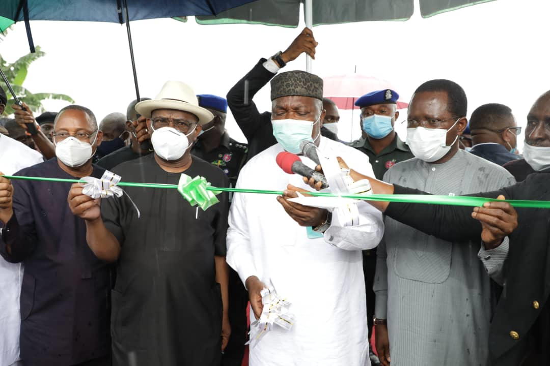 Commissioning of Ogoni Road