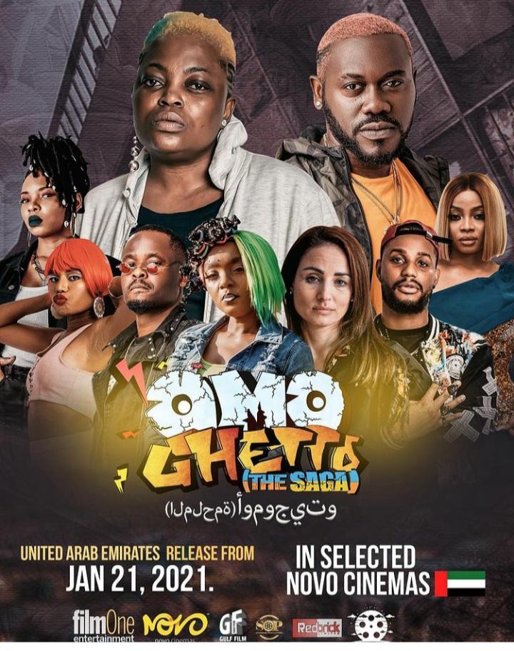 Funke Akindele makes history with Omo Ghetto