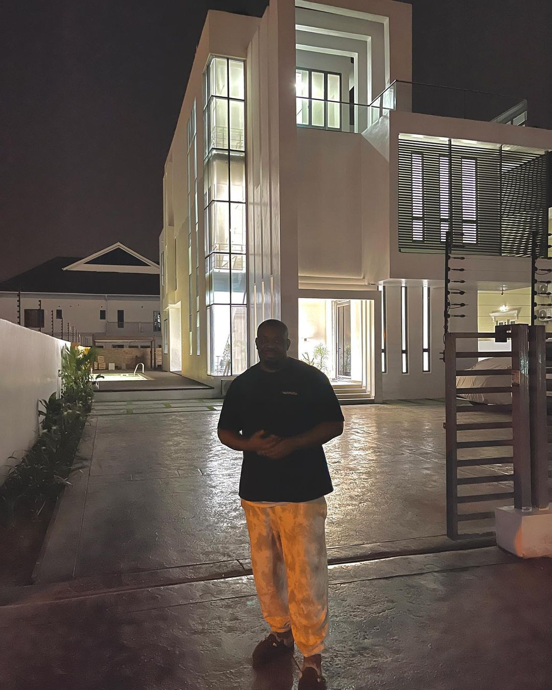 Don Jazzy Shares Photos Of His New Mansion