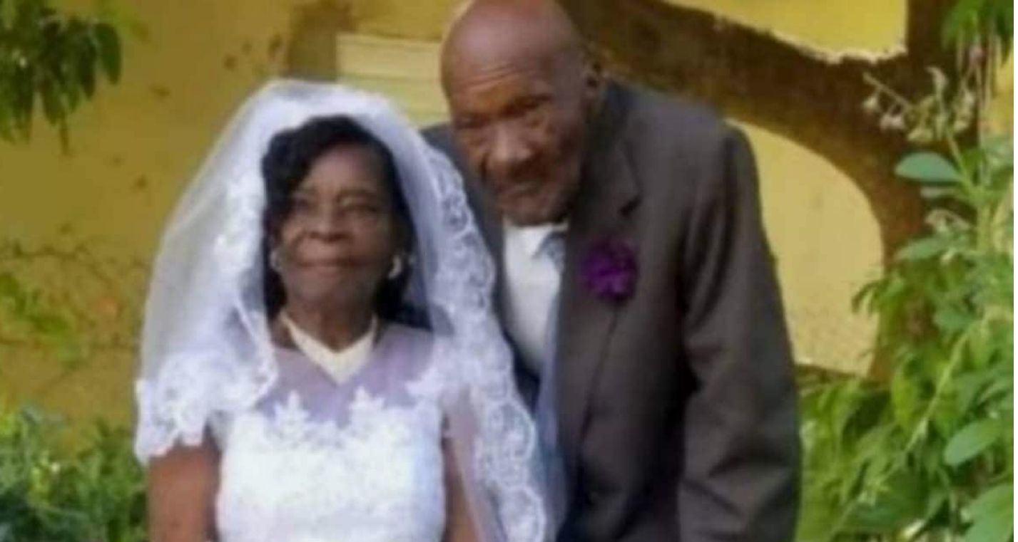 91-year-old woman weds 73-year-old boyfriend after dating for 10 years