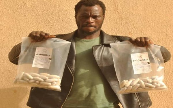 Drug Trafficker Arrested With N1bn Worth Of Cocaine In Sokoto