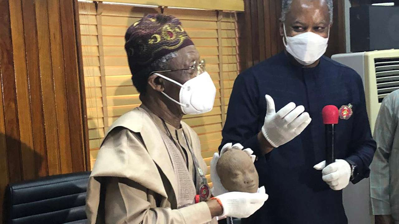 Netherlands returns smuggled 600-year-old Ife terracotta to Nigeria