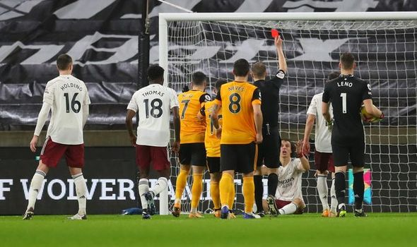 Undisciplined Arsenal side lost to Wolves