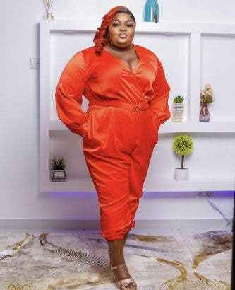 #14thHeadies Eniola Badmus' Outfit to 14th Headies attracts negative reactions