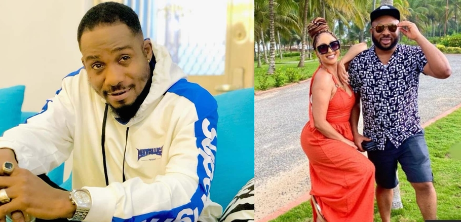 ACTOR JUNIOR POPE BLASTS ACTRESS ROSY MEURER OVER MARRIAGE TO TONTO DIKEH'S EX-HUSBAND, CHURCHILL