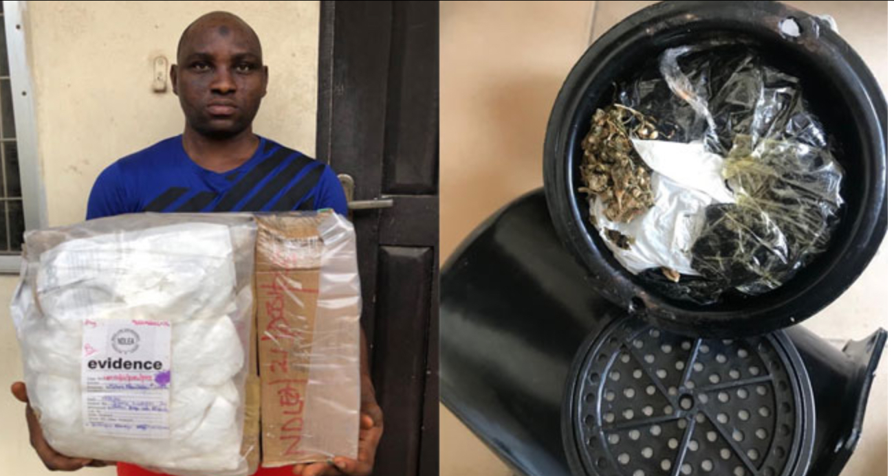 NDLEA Intercepts Cocaine And Heroine Concealed In Earrings, Cream Containers In Lagos