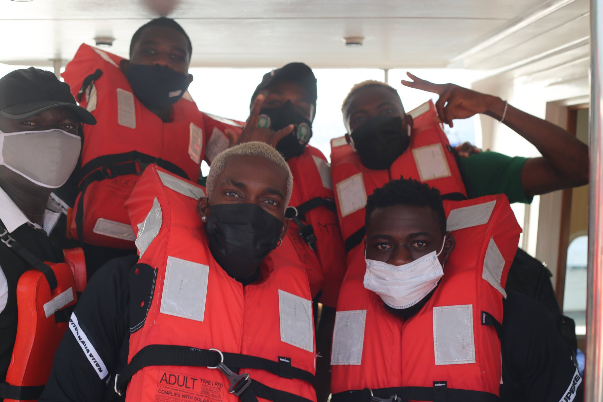 AFCON Qualifiers: Super Eagles Embark On Boat Trip To Benin Republic [Video]