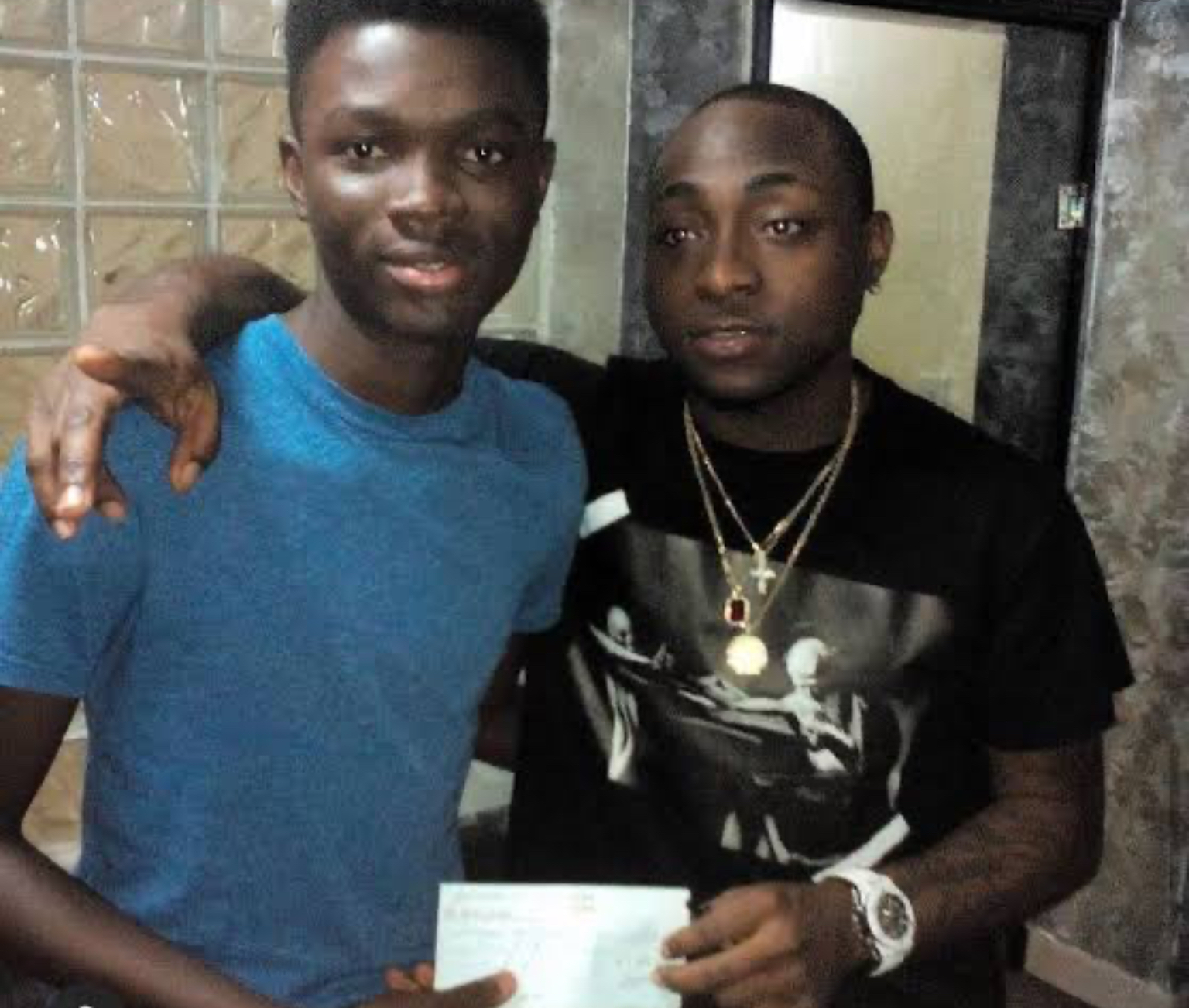 Man Praises Davido For Funding His Education After He Dropped Out Of School