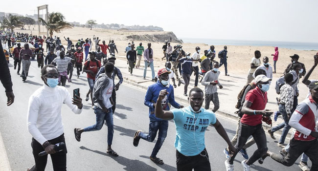 television stations Senegal Suspends Two TV Channels Over Protests Coverage