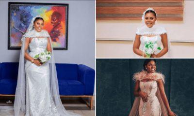 Bride Hails BBNaija Star, Alex Unusual For Inspiring Her Wedding Dress