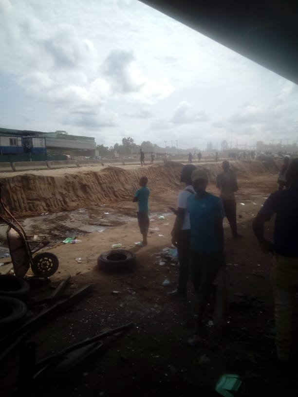 Photos: Hausa, Yoruba youths clash in Lagos