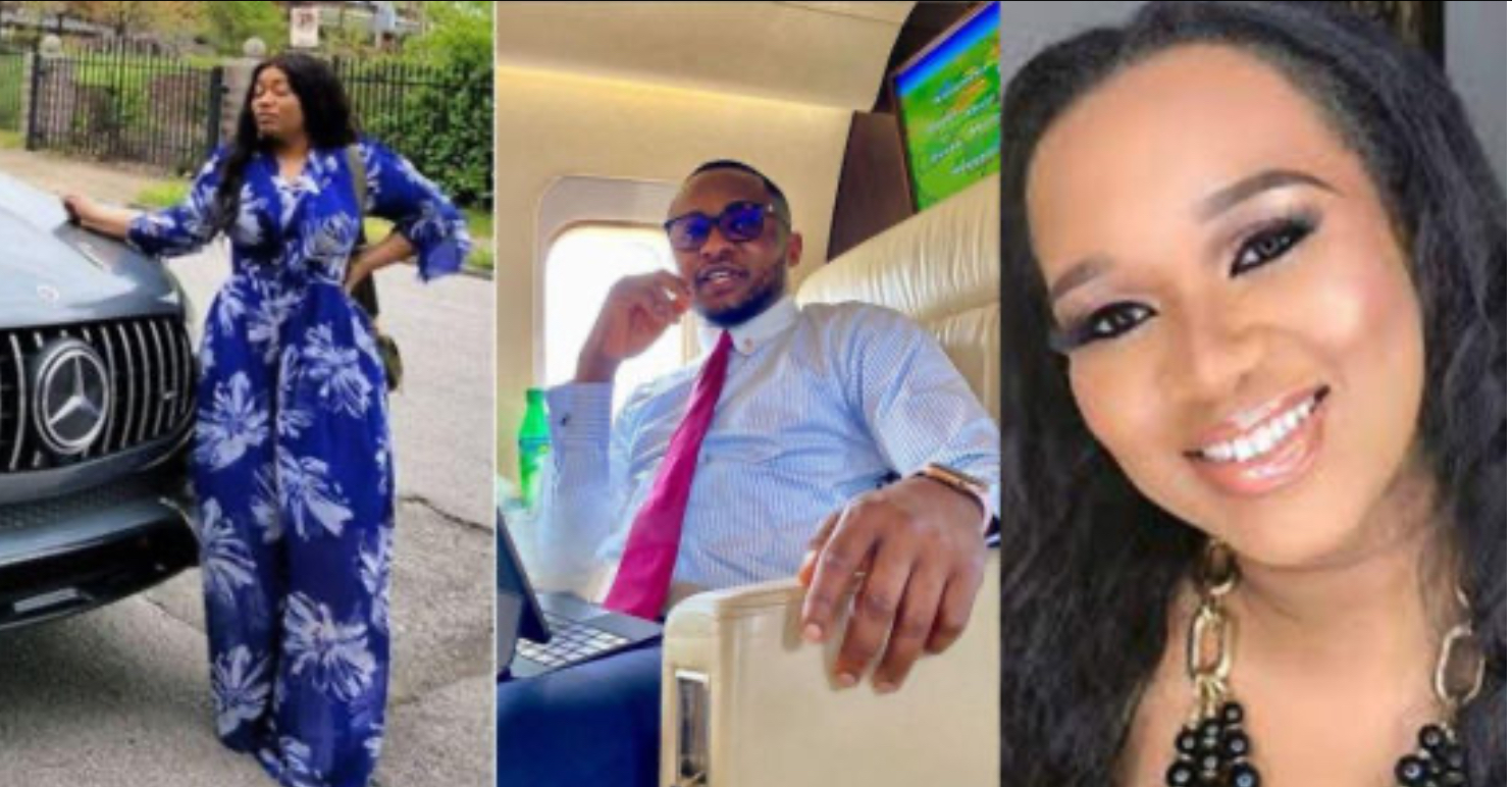 Ubi Franklin Reacts To The Fight Between Baby Mama Sandra And Girlfriend Renee