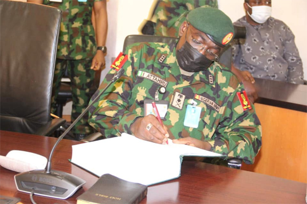 Attahiru Urges Reps To Invite Buratai, Others To Account For Looted Arms Funds