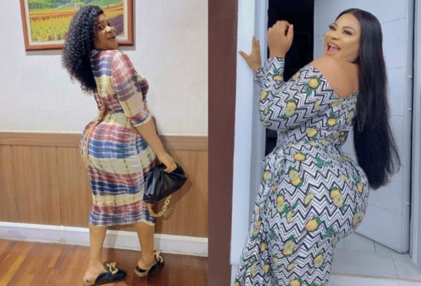 Troll Blasts Actress Nkechi Blessing For Always Flaunting Backside