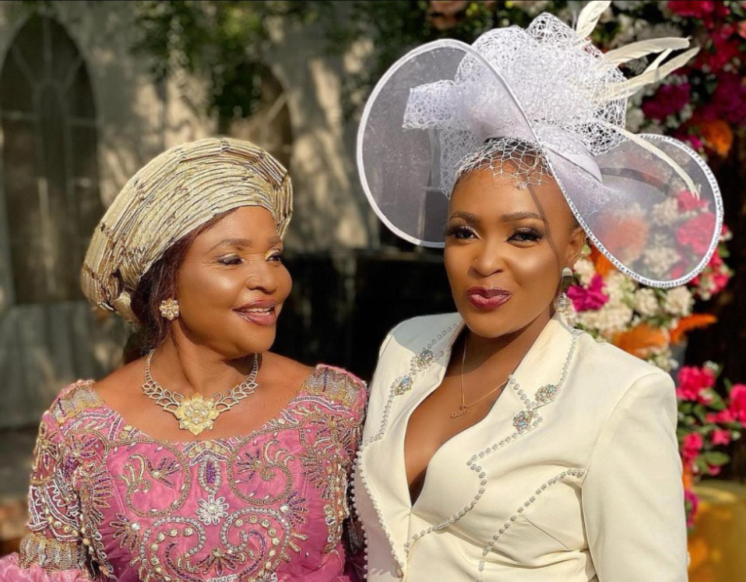 Blessing Okoro Flaunts Her Look-Alike Mother On Social Media