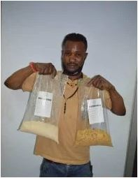 NDLEA Arrests Drug Trafficker Goodluck Odeh, Seizes N564m Heroin At Abuja Airport