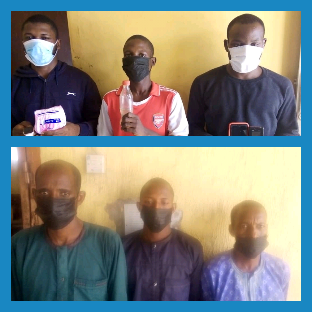 PHOTO: FCT Police Nab Attackers Of Abuja Lawyer, Other Kidnappers