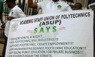 Polytechnic Lecturers Commence Nationwide Strike, Give Reasons