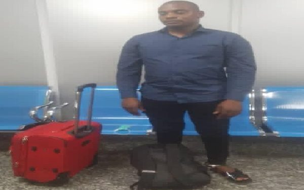 Drug Trafficker Arrested At Lagos Airport Excretes 113 Wraps Of Cocaine Worth N423m