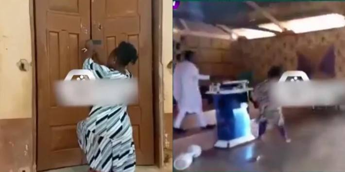 Pastor's Wife Locks Church During Service, Stops Husband From Marrying Mistress