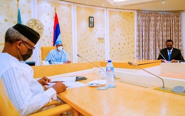 Buhari Reconvenes Security Meeting At Presidential Villa