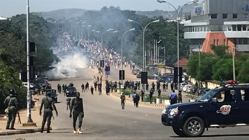 Abuja protest