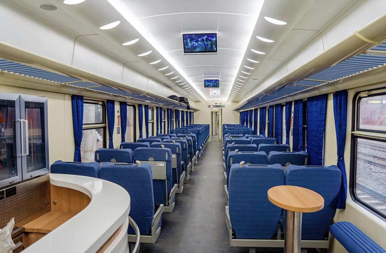 Buhari InaugurateS Lagos-Ibadan Railway Operations