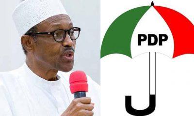 Buhari loan PDP