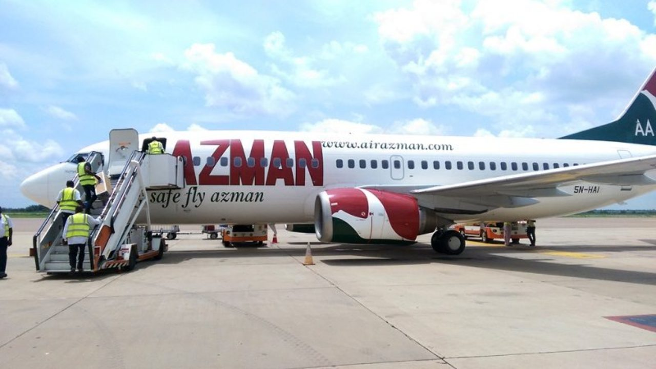Azman Air Flight Kano