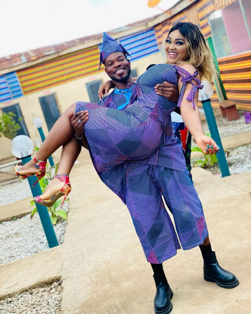Mercy Aigbe Broda Shaggi